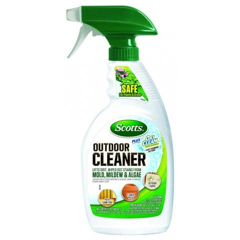 Scotts 51080 OxiClean Outdoor Cleaner Plus Ready to Use, 32 Oz
