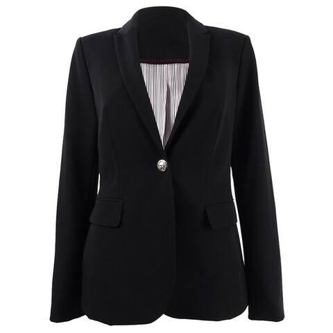 Tommy Hilfiger Women's One-Button Blazer