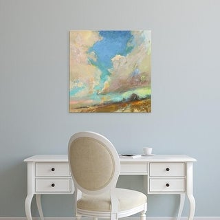 Easy Art Prints Beth A. Forst's 'Clouds Got in My Way' Premium Canvas Art