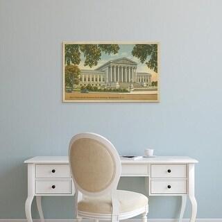 Easy Art Prints Unknown's 'Supreme Court Building, Wash, D.C.' Premium Canvas Art