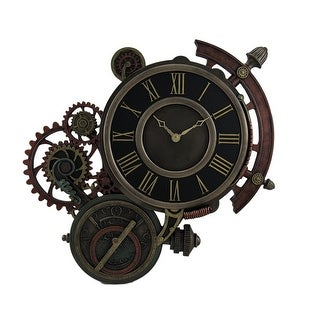 Mechanical Steampunk Astrolabe Star Tracker Wall Clock 17 Inch