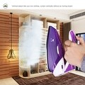 ZZ TI962-P Dual Voltage Travel Steam Iron with Stainless Steel Soleplate 1000 Watt, Purple - Thumbnail 5