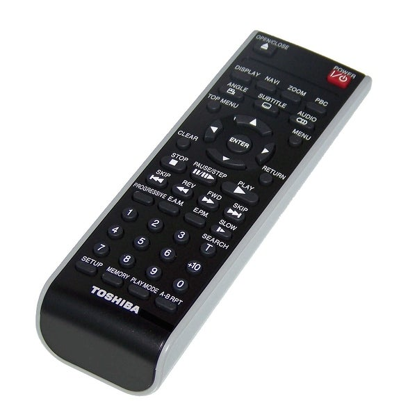 OEM Toshiba Remote Control Originally Shipped With: SD3980, SD-3980, SD3980SU, SD-3980SU, SD3980SU2, SD-3980SU2