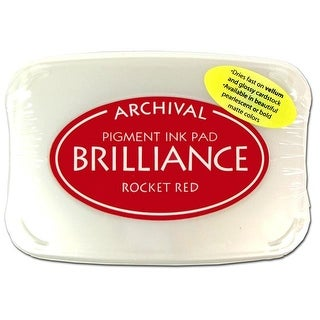 Brilliance Craft Ink Pad Large Rocket Red
