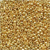 Toho Round Seed Beads 11/0 PF557 'Galvanized Starlight' 8g