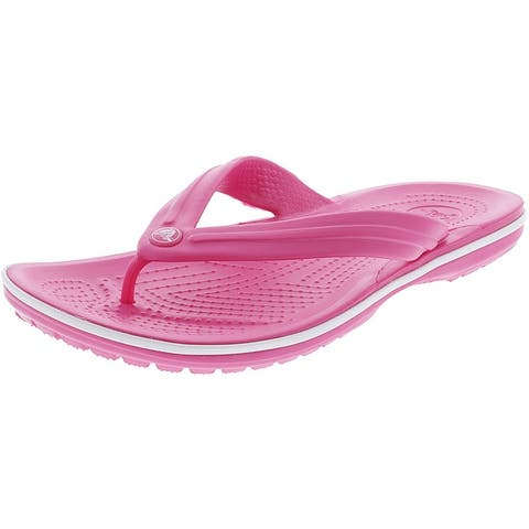 Crocs Crocband Flip Low Top Rubber Sandal