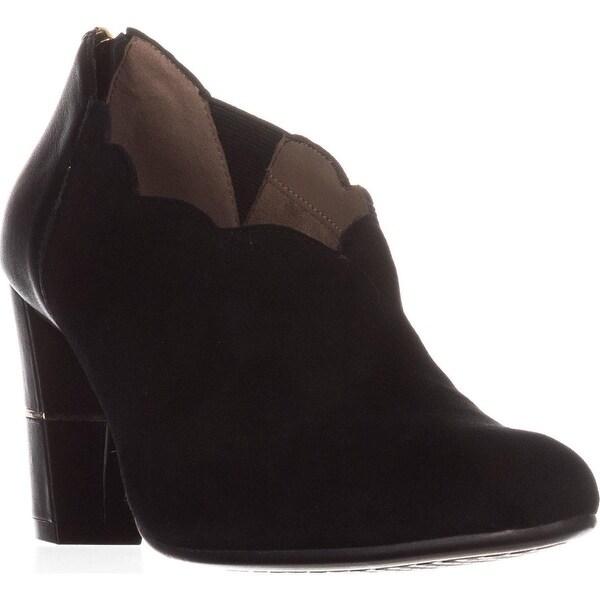 Aerosoles Teleport Ankle Boots, Black Suede