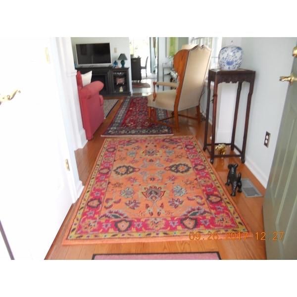 nuloom handmade overdyed traditional wool rug 4u0027 x 6u0027 free shipping today