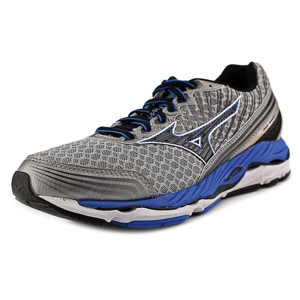 Mizuno Wave Paradox 2 Men Round Toe Synthetic Gray Running Shoe