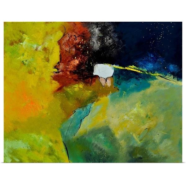 """Abstract 1811804"" Poster Print"