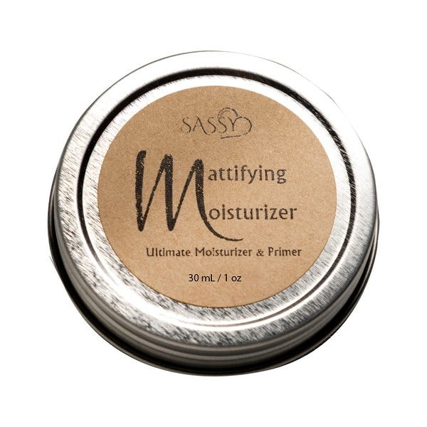 Sassy Skin Care Ultimate Mattifying Moisturizer and Primer - Nourishes, Smooths and Softs Skin. Opens flyout.