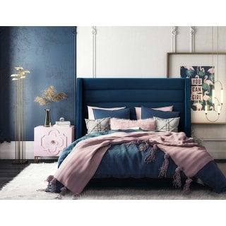 Link to Koah Velvet Bed Similar Items in Bedroom Furniture