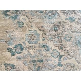 Persian Rugs Vintage Cream Area Rug (7'10 x 10'6)