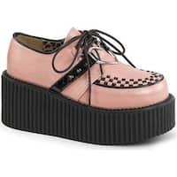 4b0e8e2ff1d2 Shop Demonia Women s Dank 110 Platform Oxford Black Vegan Leather ...