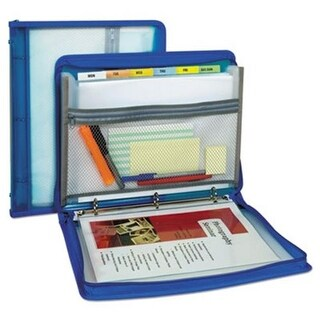 C-Line Products 10.88 x 1.5 in. Zippered Binder with Expanding