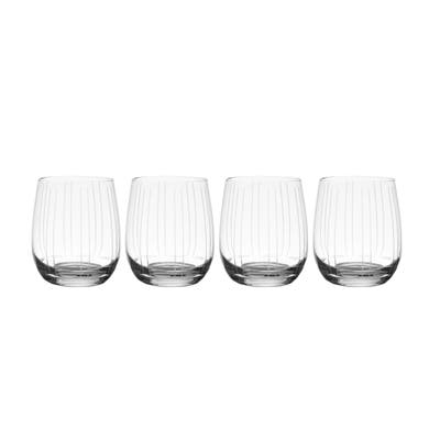 Mikasa Berlin 15.5OZ Double Old Fashioned Glass (Set of 4)