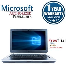 "Refurbished Dell Latitude E6320 13.3"" Laptop Intel Core i5 2520M 2.5G 4G DDR3 500G DVD Win 10 Pro 1 Year Warranty"