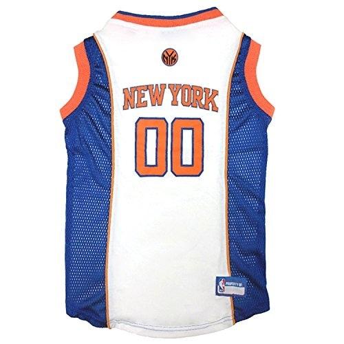 detailed look 715e7 ecc01 NBA New York Knicks Pet Jersey