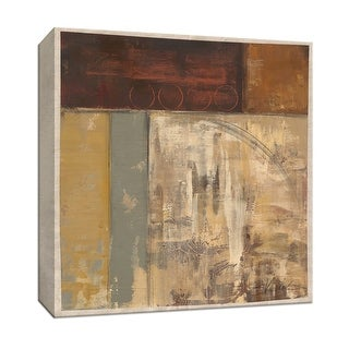 """PTM Images 9-153088  PTM Canvas Collection 12"""" x 12"""" - """"Railroad II"""" Giclee Abstract Art Print on Canvas"""