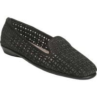 Aerosoles Women's You Betcha Slip-On Black Nubuck