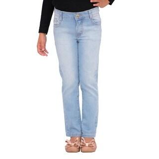 Pulla Bulla Little Girls' Premium Jeans Denim Pants