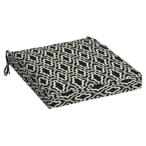 Arden Selections DriWeave Amalfi Trellis Outdoor Seat Cushion - 21 in L x 21 in W x 5 in H