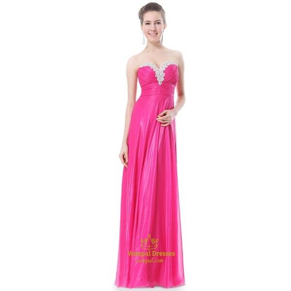 e99445351be90 Shop Hot Pink Long Bridesmaid Dresses,Hot Pink Bridesmaid Dresses ...
