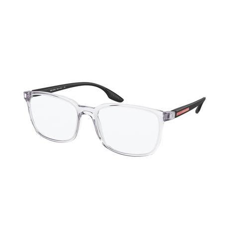 Prada Linea Rossa PS 05MV 2AZ1O1 53 Crystal Man Pillow Eyeglasses