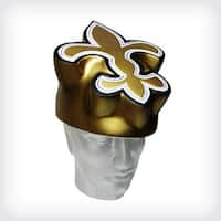 NFL Team Mascot Foamhead Hat: New Orleans Saints - Gold