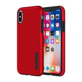 Incipio DualPro for iPhone X - Red/Black