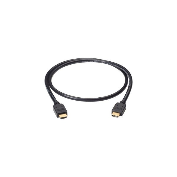 Black Box VCB-HDMI-003M Black Box Premium High-Speed HDMI Cable with Ethernet, Male/Male, 3-m (9.8-ft.) - HDMI for Audio/Video
