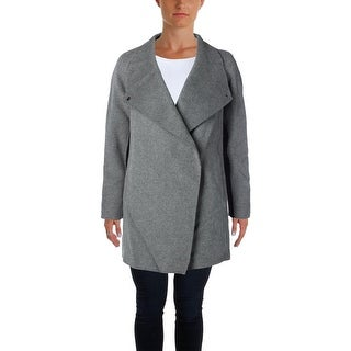 Vince Womens Sweatercoat KNit Two Tone