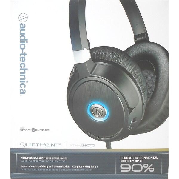 Audio-Technica QuietPoint Active Noise-Cancelling Headphones - (Refurbished)