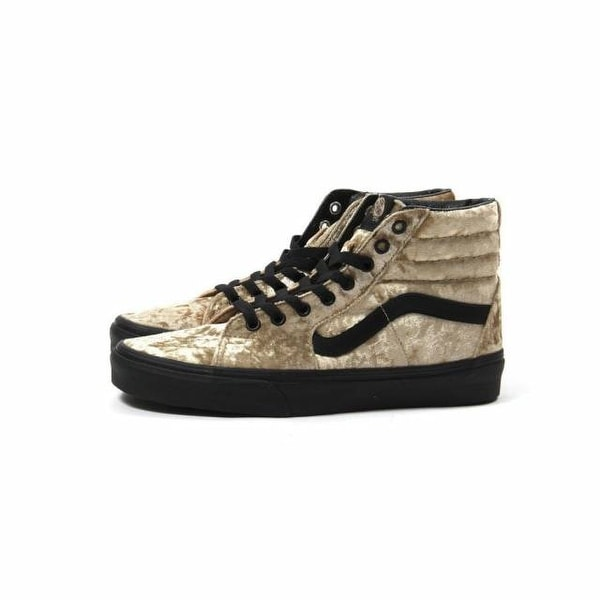 Shop Vans Womens SK8-Hi - Velvet Velvet Low Top Lace Up Fashion ... 01a63b6fb
