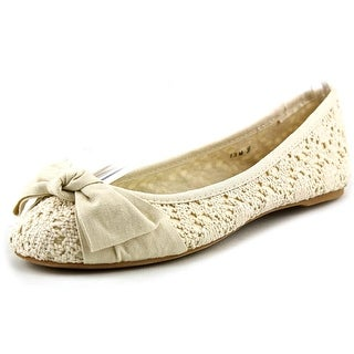 Dolce by Mojo Moxy Buttercup Round Toe Canvas Flats