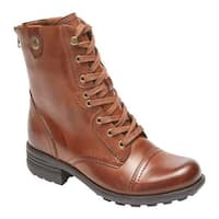 Rockport Women's Cobb Hill Bethany Boot Almond Leather