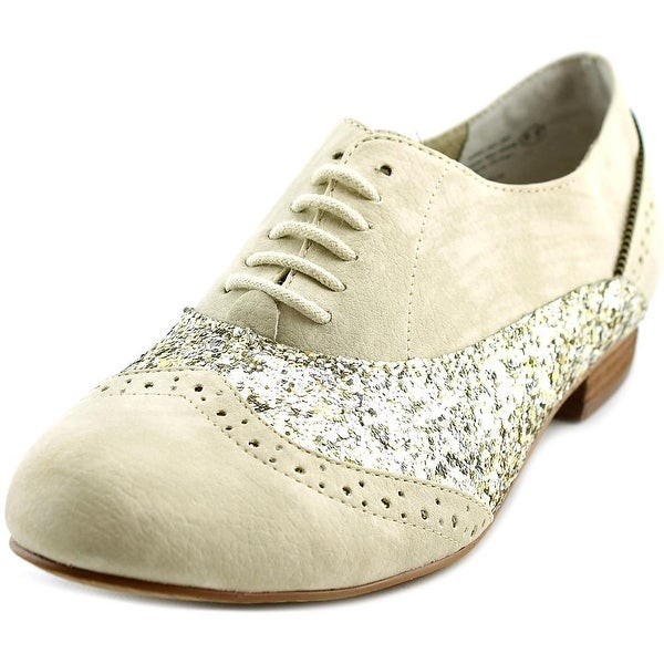 Not Rated King of Pop Women Round Toe Synthetic Oxford