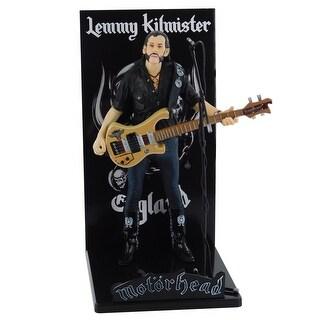 Motorhead Lemmy Kilmister Deluxe Figure Rickenbacker Guitar Eagle - multi