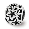 Sterling Silver Reflections Star Bead (4mm Diameter Hole) - Thumbnail 0