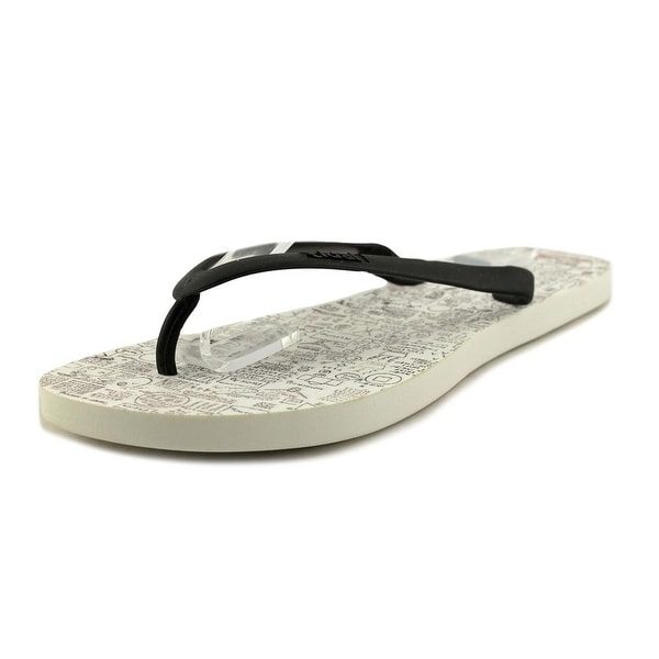 Tidal Notepad Men Open Toe Synthetic White Flip Flop Sandal