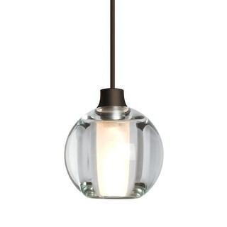 "Besa Lighting 1XT-BOCA5 Boca Single Light 4-3/4"" Wide Mini Pendant with Glass Sh (2 options available)"