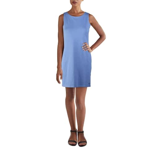 Joules Womens Riva Casual Dress Mini Sleeveless - Dark Blue