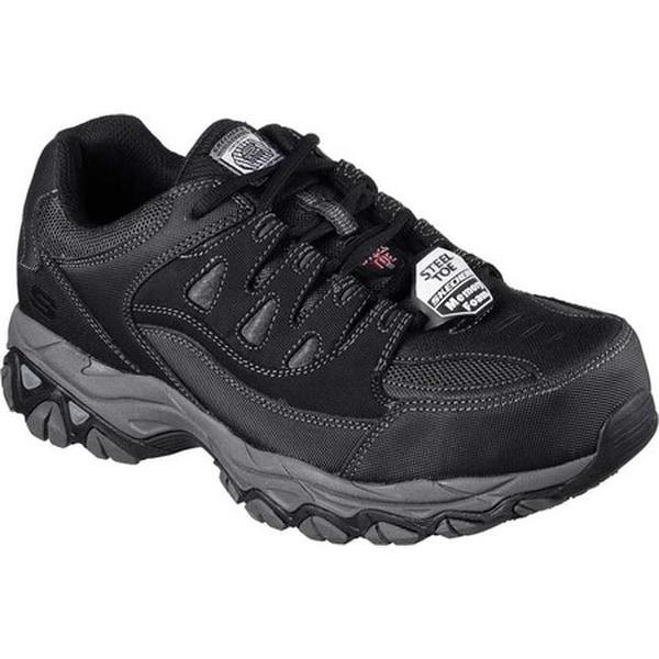 Work Holdredge Steel Toe Sneaker Black