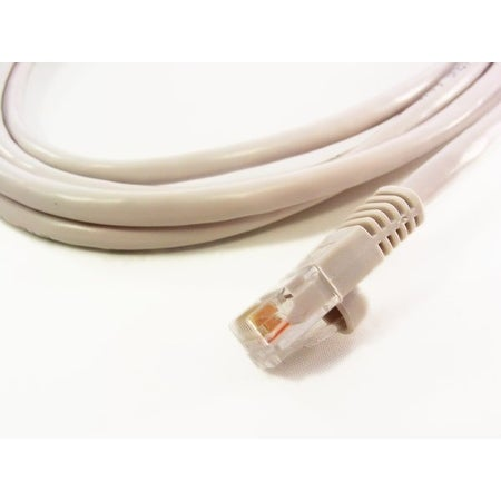Cat5e 350Mhz Molded Ethernet Cable, Gray, 10 ft