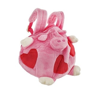 Happy House Children`s Fat Piggy Plush Mini Backpack