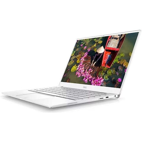 "Dell XPS 9380 Intel Core i7-8565U X4 4.6GHz 8GB 512GB SSD 13.3"" Win10,White(Certified Refurbished)"