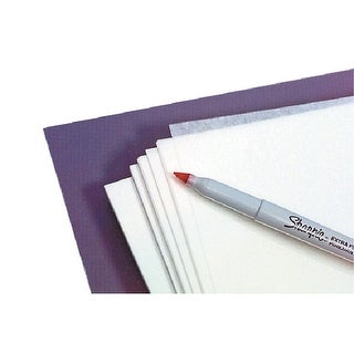 Grafix Transparency Film, 8-1/2 X 11 in, 0.005 in Thickness, Pack of 100