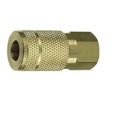 """Forney 75485 Tru-Flate Compatible Air Fitting Coupler, 3/8"""" x 1/4"""" Female NPT"""