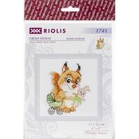 "Riolis Counted Cross Stitch Kit 6""X6""-Playing House (10 Count)"