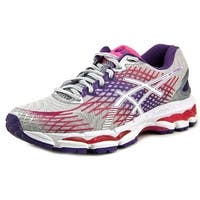 Asics Gel-Nimbus 17 Women  Round Toe Synthetic Gray Running Shoe